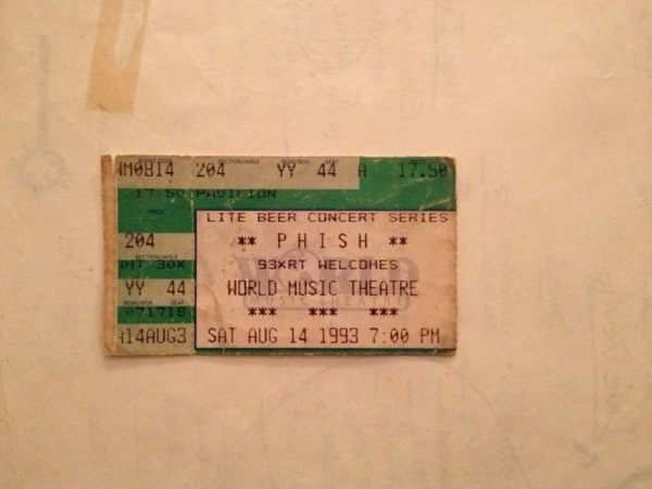 Photo Nov 17 8 10 44 PM 1024x768  Can't this wait 'til I'm old?  My review of Phish at World Music Theatre, Tinley Park, Illinois  8/14/93